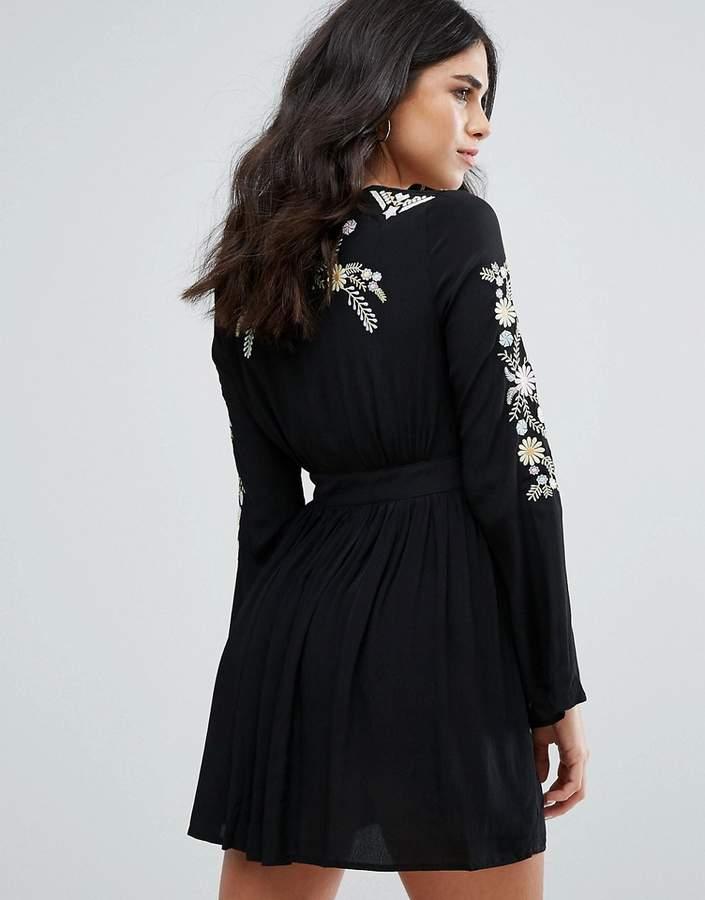 Little White Lies Hortense Embroidered Festival Dress