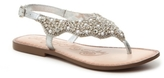 Naughty Monkey Pearl Gem Flat Sandal