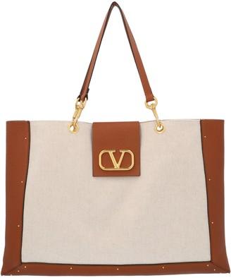 Valentino VLogo Canvas Tote Bag