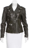 Theory Leather Zip-Accented Jacket