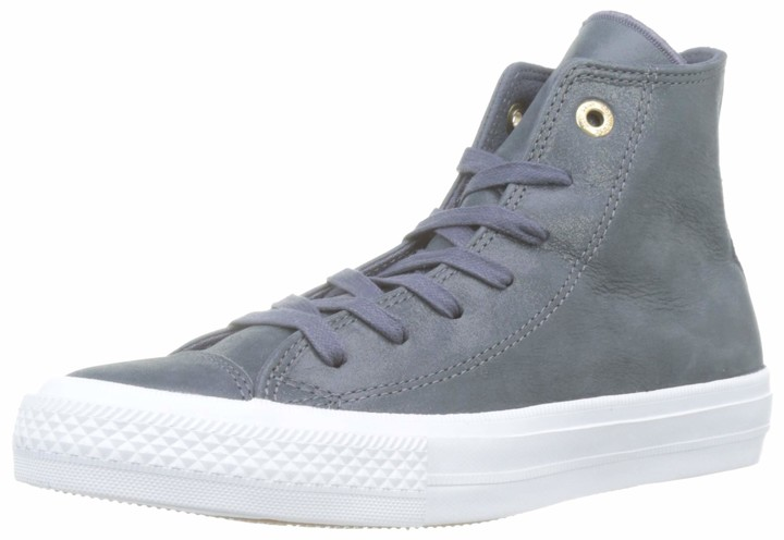 womens grey converse trainers
