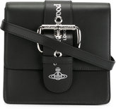 Vivienne Westwood small Alex crossbody bag - women - Leather/metal - One Size