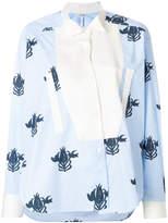 Loewe floral print blouse
