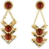 Dannijo Crystal Agate Drop Earrings