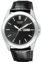 Citizen Men's BF0580-06E Stainless Steel Watch With Leather Band