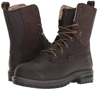 Timberland Hightower 8 Safety Toe WP 600g Insulated (Brown Distressed) Women's Work Boots