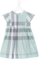 Burberry checkered dress - kids - Cotton - 10 yrs