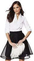 New York & Co. 7th Avenue - Madison Stretch Shirt - Pleated-Bib