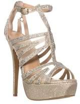 Thalia Sodi Ts35 Flairr Platform Dress Sandals, Gold.