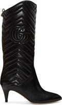 Gucci Black Nina Boots