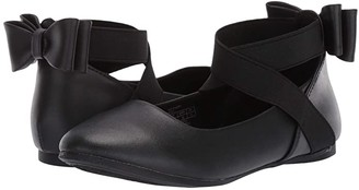 Kenneth Cole Reaction Tap Strappy (Little Kid/Big Kid) (Black) Girl's Shoes
