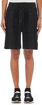 adidas Originals by Alexander Wang Women's Combo Striped Cotton Shorts