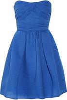 Carven Cotton-blend organza mini dress