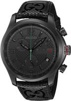 Gucci Men's YA126244 Analog Display Swiss Quartz Watch