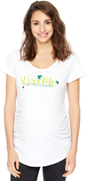 Motherhood Kiss Me Maternity Tee