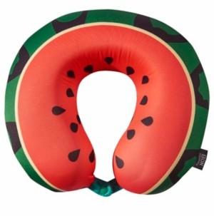 Bon Voyage Watermelon Memory Foam Travel Neck Pillow