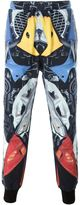 Kokon To Zai abstract print cuffed trousers - men - Cotton - S