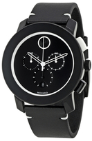Movado Bold Black Dial Chronograph Mens Watch, 43.5mm