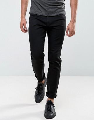 Cheap Monday Audiac Regular Taper Jeans Deep Black