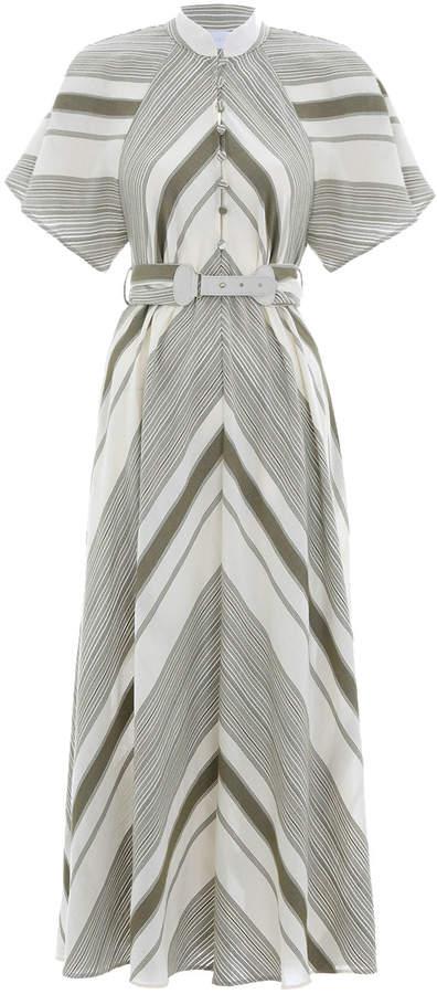 Zimmermann Melody Mandarin Collar Dress