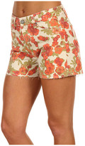 Paige Lola High Rise Cut-Off Short in Chello