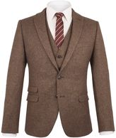 Ben Sherman Antique Gold British Tweed Camden Jacket