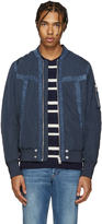 Diesel Blue D-Presley Bomber Jacket