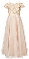 Rare Editions Big Girls 7-16 Cold-Shoulder Embellished Dress