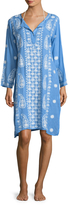 Melissa Odabash Tanya Embroidered Cover-Up Dress