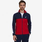 Nautica Active Fit Zip-Up Jersey Sweatshirt