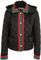 Gucci Web Trim Down Jacket