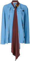 Marni jacket top - women - Silk/Acetate/Viscose - 40