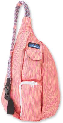 Kavu Women's Backpacks Coral - Coral Crush Mini Ropercise Sling Backpack