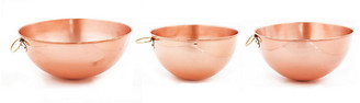 One Kings Lane Set of 3 Assorted Beating Bowls - Copper