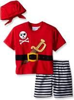 Sara's Prints Boys' Little Boys' 2 Piece Short Pajama Set