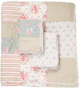 Melange Home Sophia Cotton Patchwork Quilt Set