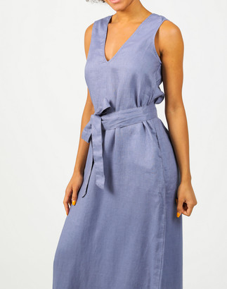 Madewell Lanhtropy Organic Linen Toscana Dress