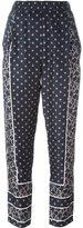 3.1 Phillip Lim printed satin trousers - women - Silk - 2