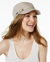Calvin Klein Belted Newsboy Hat