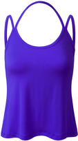Royal Blue Strap-Accent Halter Tank - Plus Too