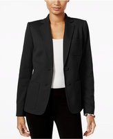 Tommy Hilfiger Two-Button Ponte Blazer