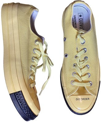 Converse X Undercover Yellow Cloth Trainers