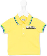 Moschino Kids - classic polo shirt - kids - Cotton/Spandex/Elastane - 3-6 mth