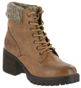 Mia Brayden Combat Boot Women's Shoes