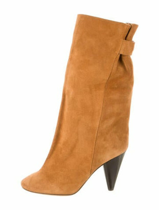 Isabel Marant Suede Boots Brown