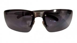 Chanel Blue Metal Sunglasses