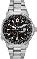 Citizen Men's Eco-Drive Promaster Nighthawk Dual Time Watch with Date BJ7000-52E