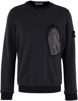 Stone Island Pocket round-neck sweatshirt