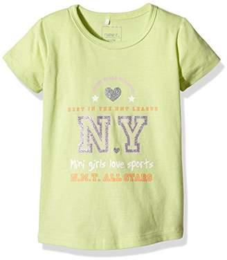 Name It Girl's NITVAIKEN M SS TOP 4 216 T-Shirt,18-24 Months