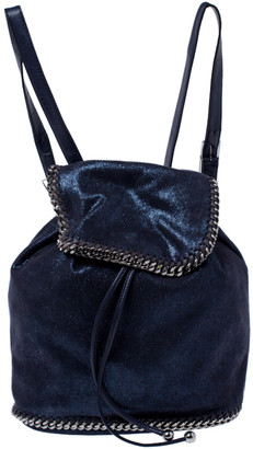 Stella McCartney Midnight Blue Faux Leather Falabella Backpack